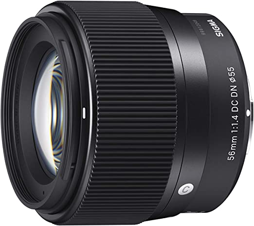 Sigma 56mm F1 4 Dc Dn Contemporary Objektiv Für Micro Kamera