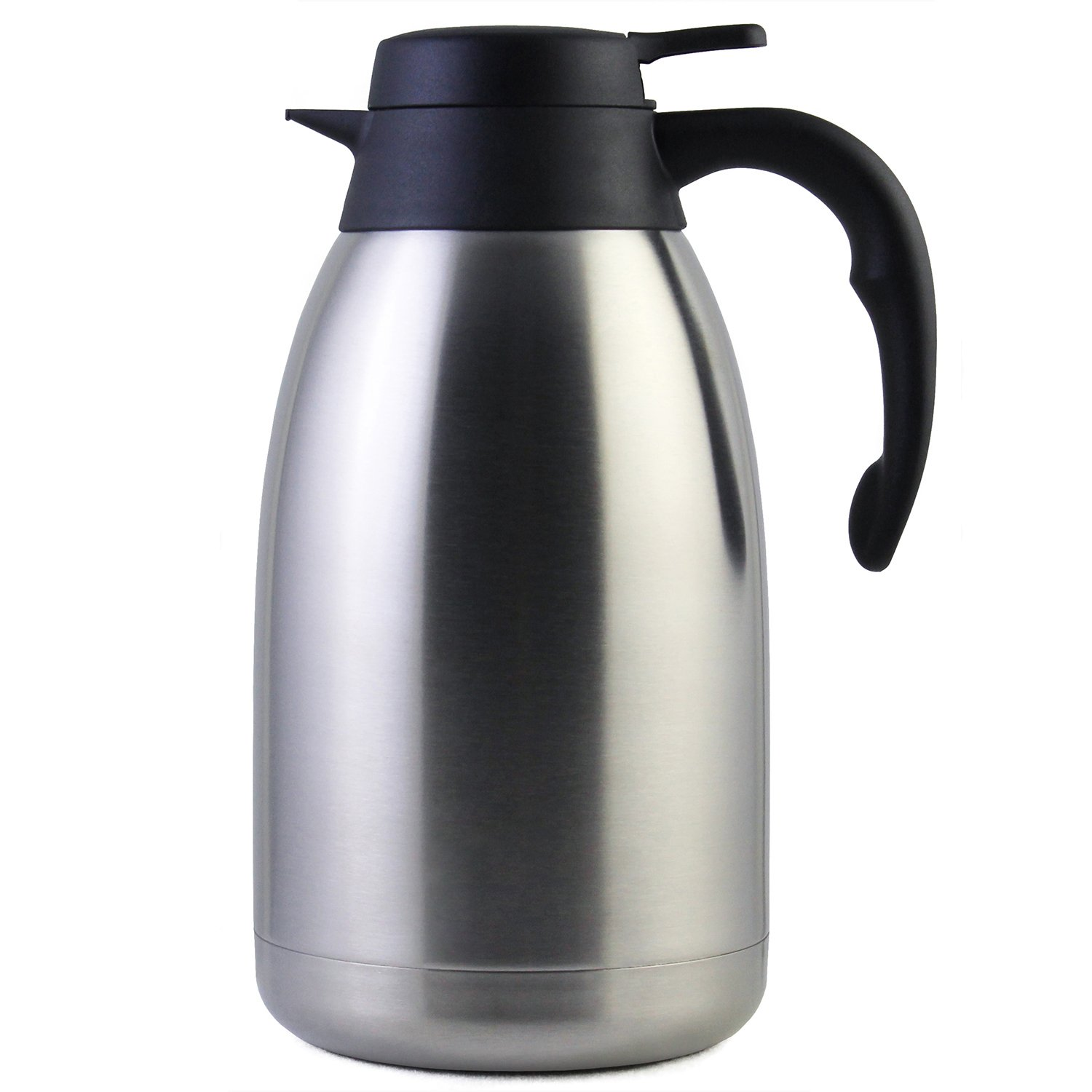 68 Oz Stainless Steel Thermal Coffee Carafe/Double Walled Vacuum Thermos / 12 Hour Heat Retention / 2 Litre by Cresimo by Cresimo
