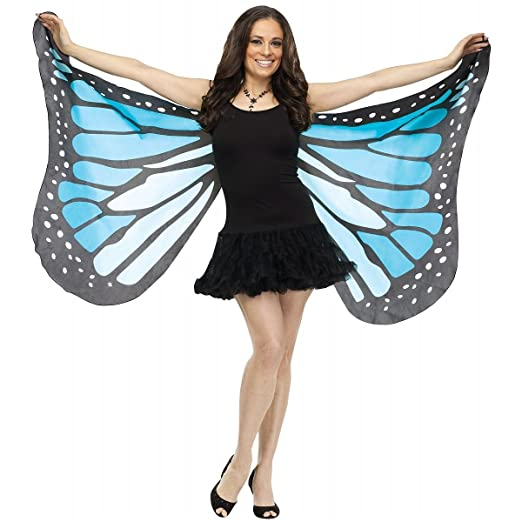 Adult Costume Blue Butterfly Wings 392LqcTuhV