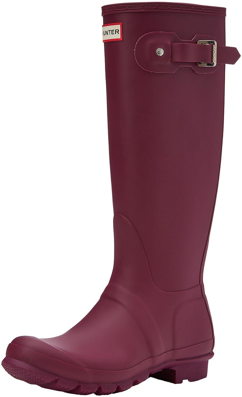 Hunter Women's Original Tall Rain Boot B01NAPNXMF 5 B(M) US|Violet