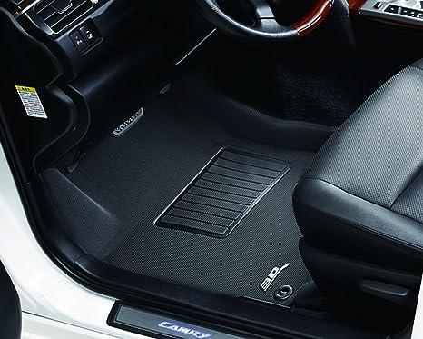 Kagu Rubber 3D MAXpider Front Row Custom Fit All-Weather Floor Mat for Select Mercedes-Benz GLE-Class// GLS-Class// ML-Class// GL-Class Models Gray