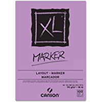 Bloco A4 70g/m², Canson, 60297236, Marker, 100 Folhas