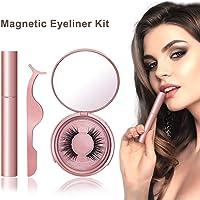 Magnetic Eyelashes, Magnetic Eyeliner, Easier To Use Magnetic False Lashes Set