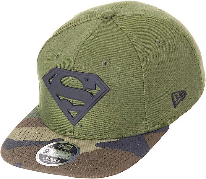 A NEW ERA Mujeres Gorras/Gorra Snapback Camo MTL Hero Superman ...
