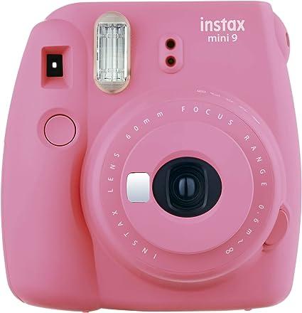 Fujifilm Instax Mini 9 Kamera Flamingo Rosa Kamera