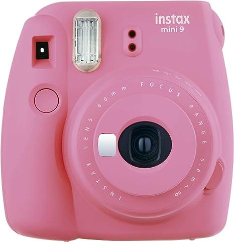 Oferta amazon: Fujifilm Instax Mini 9 - Cámara instantánea, Solo cámara, Rosa