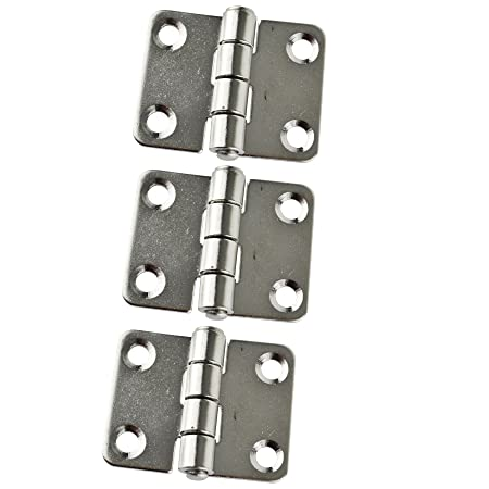 Cabin Door Hinges 3 Pack Stainless Steel for Boat Yacht