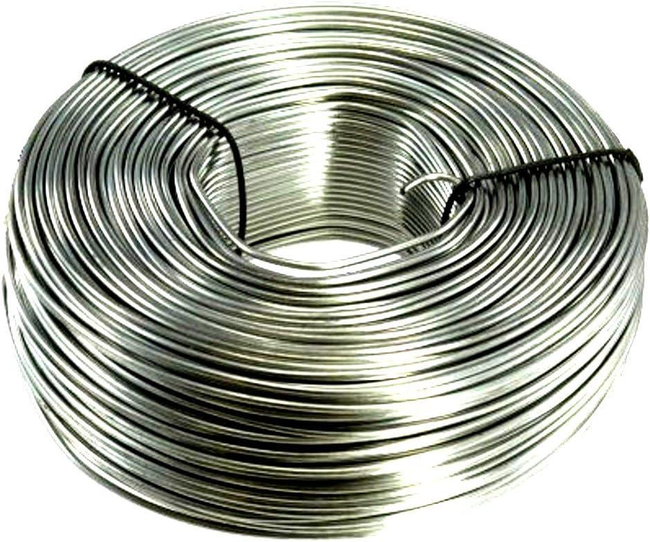 3.5 lb. Coil 16-Gauge Stainless Steel Tie Wire 330 Feet 71TmSQpDBZL