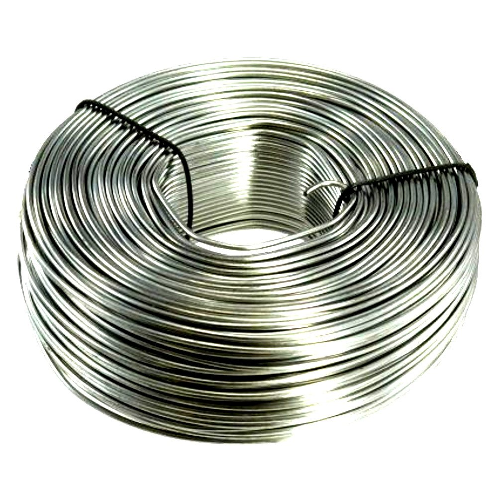 3.5 lb. Coil 16-Gauge Stainless Steel Tie Wire 330 Feet