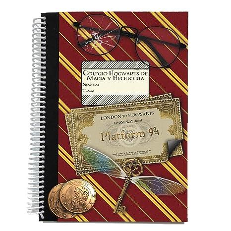 Agenda anual 2019 semana vista - Harry Potter Hogwarts ...