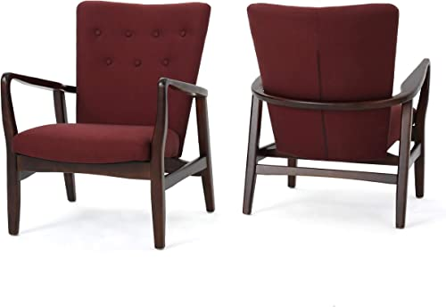 Cheap Christopher Knight Home Becker Fabric Arm Chairs living room chair for sale
