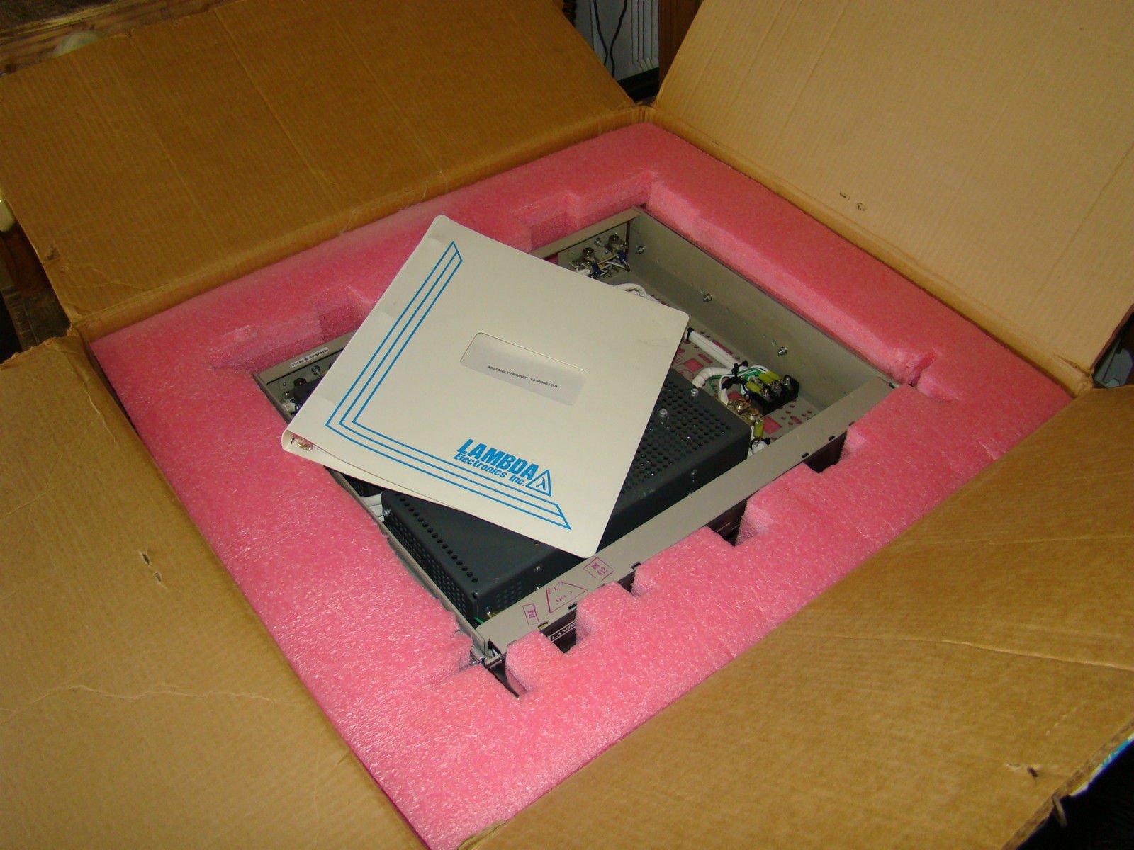 BRAND NEW Lambda Dual LRS-54-24 DC Power Supply Rack Mount w/ Manual