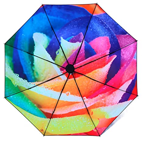 Balloon de aire caliente de viaje xagoo® Paraguas plegable Paraguas de lluvia para uso infantil