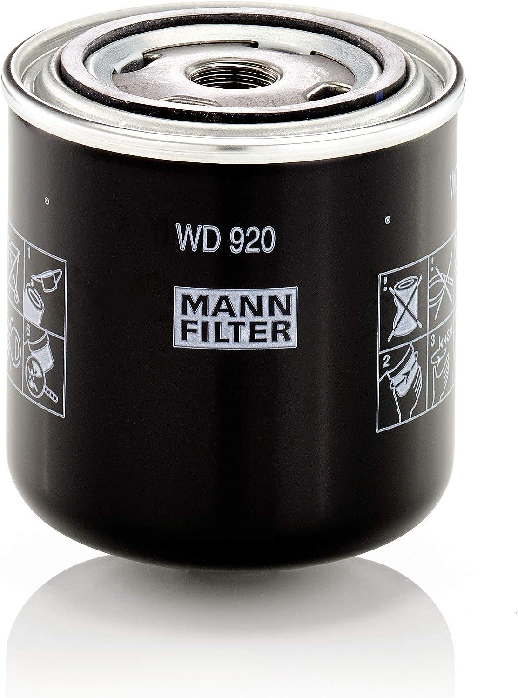 Original Mann Filter Hydraulikfilter Wd 920 Für Industrie Land Und Baumaschinen Auto