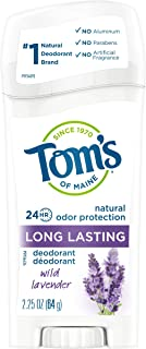 product image for Tom's of Maine Natural Deodorant Stick, Aluminum Free, Long Lasting, Wild Lavender, 2.25 Ounce