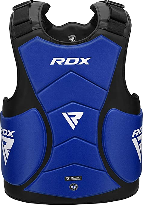New Leather TKD Chest Guard Protection Medium