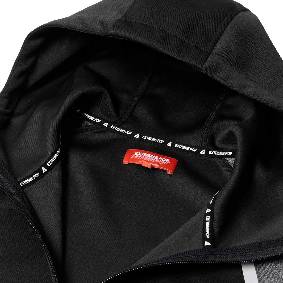 Amazon.com: Extreme Pop - Sudadera con capucha y cremallera ...