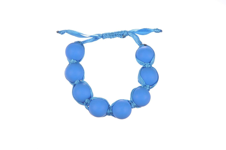 JellyジュニアMia Teethingブレスレット ブルー  インディゴ B01DR8ICT2
