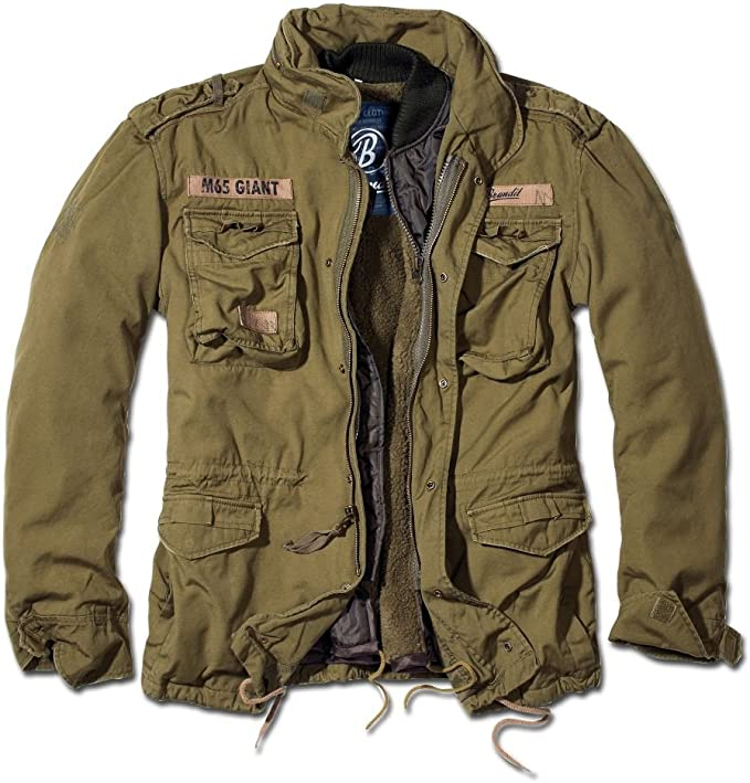 Giacca stile militare brandit m-65 giant jacket 3101
