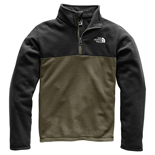 fee841bf4 Amazon.com: The North Face Boy's Glacier Quarter Zip: Clothing