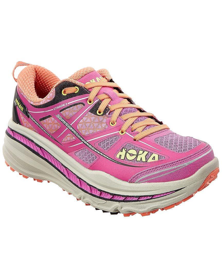 1cc79f0783093 Hoka One One Stinson 3 ATR Fuchsia/Fusion Coral Womens Running Shoes, 5  B(M) US