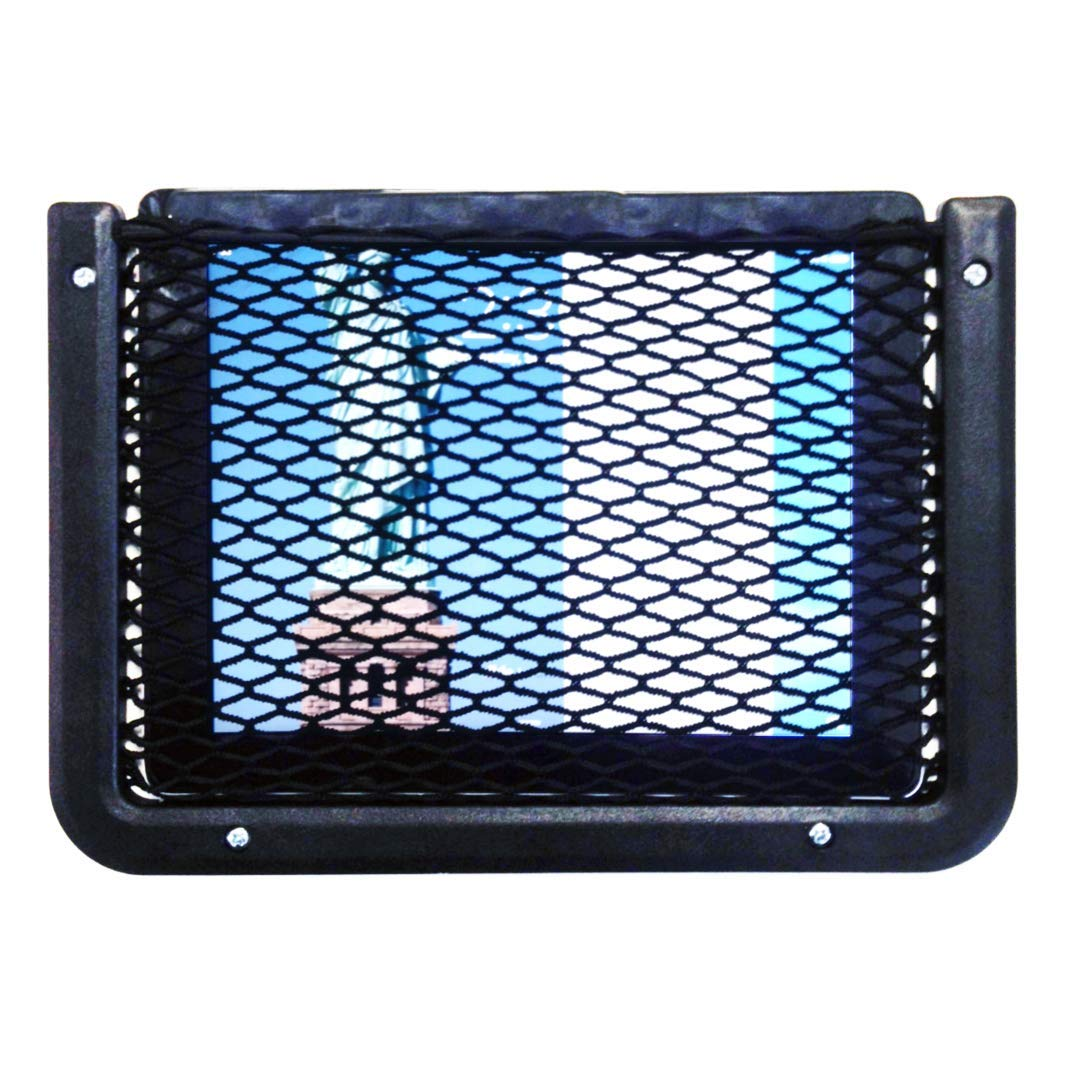RV or Home Organization and Storage 8 x 11 Framed Stretch Mesh Net Pocket for Auto