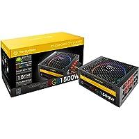 Thermaltake Toughpower DPS G RGB 1500W Digital 80+ Titanium Smart Zero 256-Color RGB Fan Fully Modular ATX 12V 2.31/EPS 12V 2.92 Power Supply 10 YR Warranty PS-TPG-1500DPCTUS-T