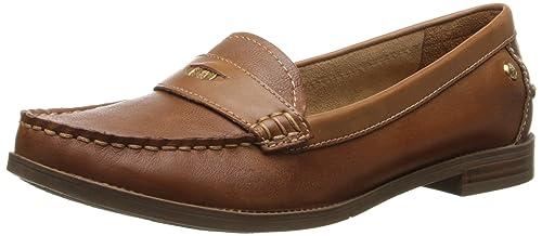 Hush Puppies Iris Sloan - Mocasines para mujer, Brown (Tan Leather), 3 uk: Amazon.es: Zapatos y complementos