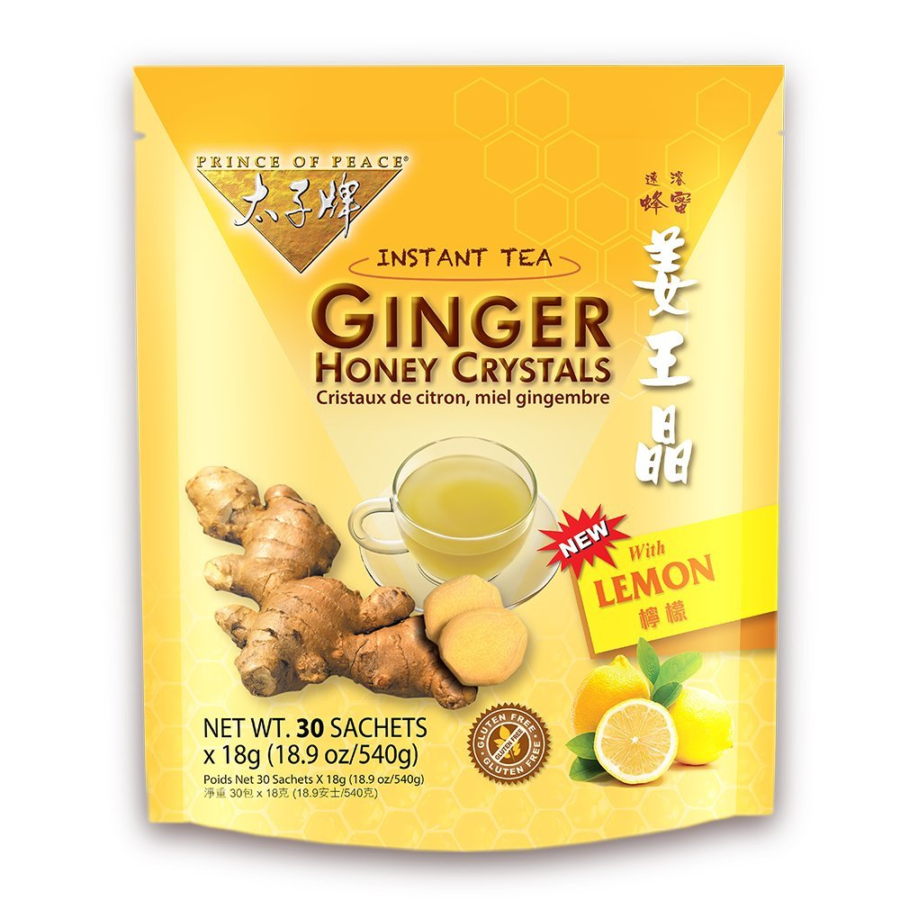 PRINCE OF PEACE Ginger Honey Crystals with lemon 30 Bag
