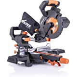 """Evolution Power Tools R185SMS+ 7-1/4"""" Multi-Material Compound Sliding Miter Saw Plus"""