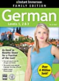 2014 Edition - Instant Immersion German Levels 1,2,3