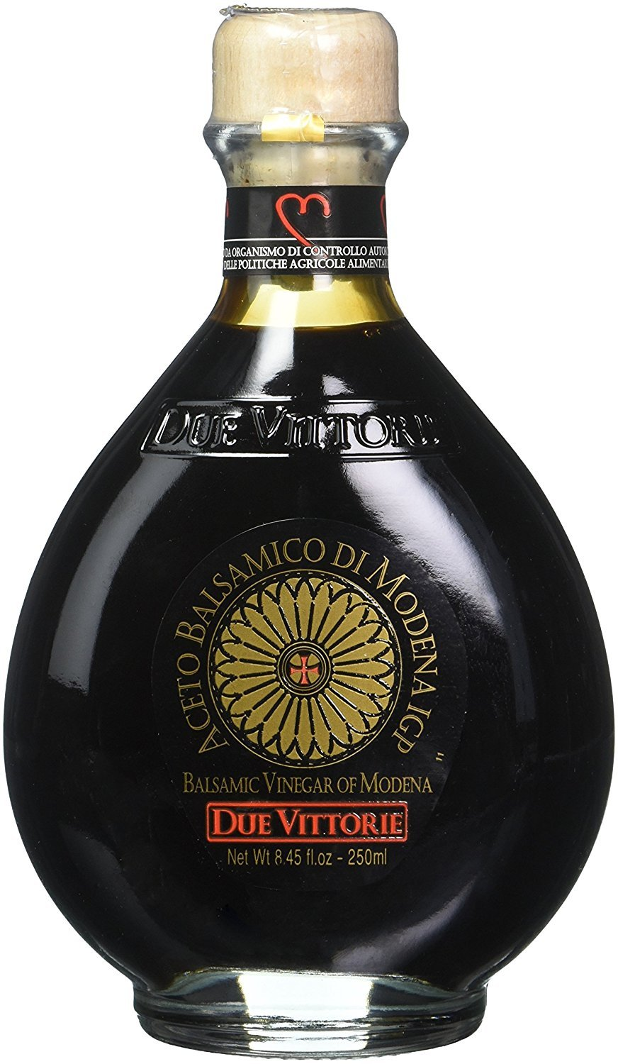 Due Vittorie Oro Gold Balsamic Vinegar of Modena without Pourer- 250ml