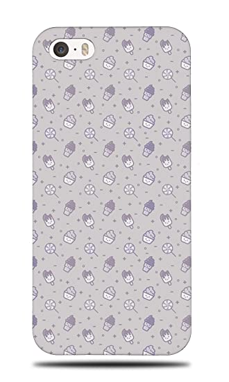 d7d74ec90bedc4 Image Unavailable. Image not available for. Color  ICE CREAM LOLLIPOP  PATTERN 1 Hard Phone Case Cover for Apple iPhone 5 ...
