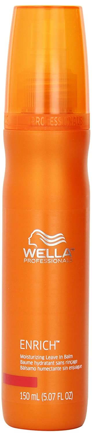 Wella Enrich Moisturizing Leave In Balm, 5.07 Ounce Mainspring America Inc. DBA Direct Cosmetics 070018008589