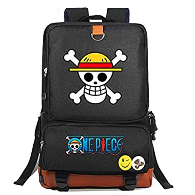 YOYOSHome Anime One Piece Backpack Luffy Cosplay Bookbag Daypack School Bag: Toys & Games