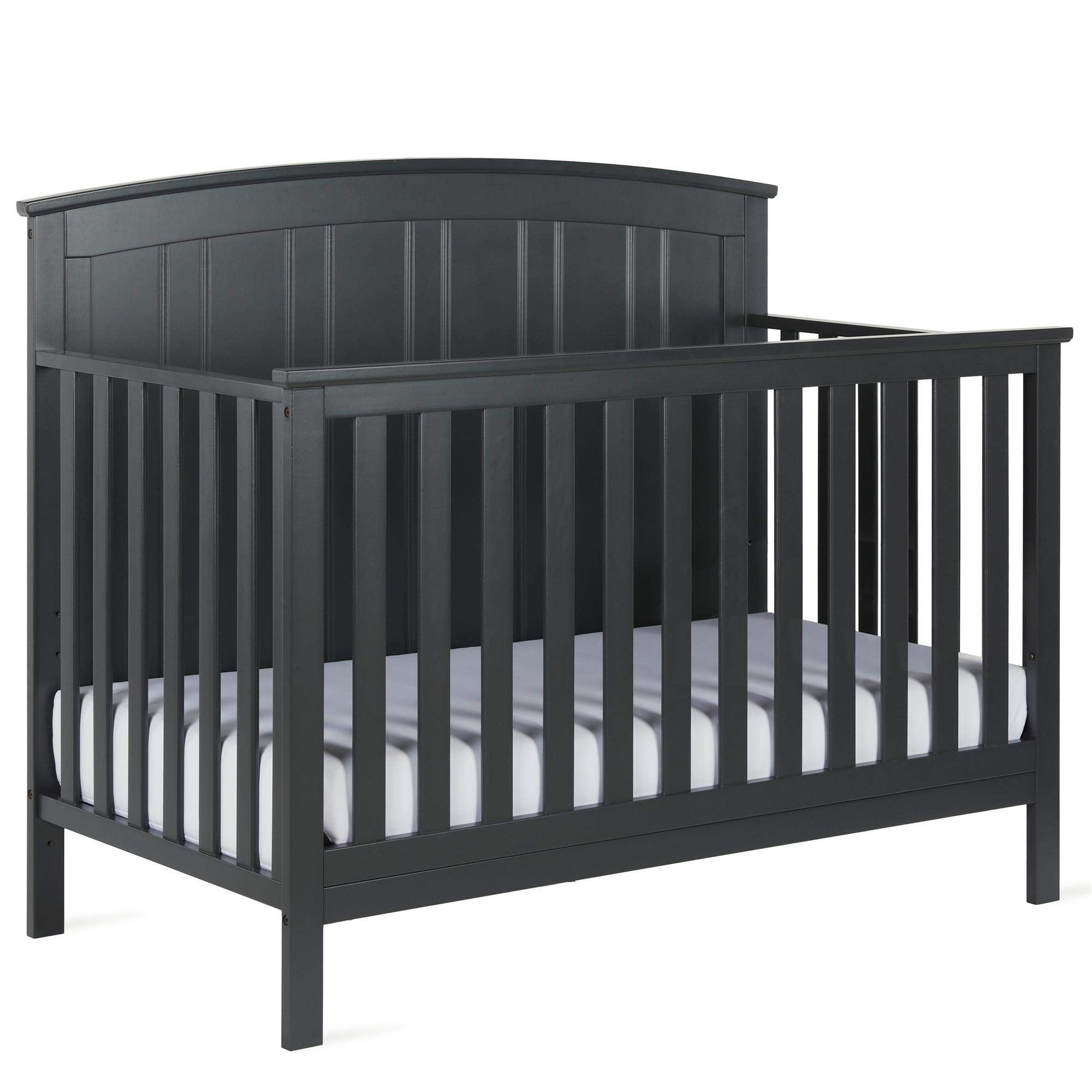 Baby Relax Colton 5-in-1 Convertible Crib, Slate Gray by Baby Relax