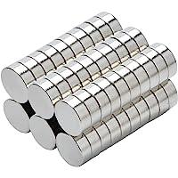 Yizhet 50 stuks magneten magneet huishoudelijke magneten 8x3 mm mini magneet voor magneetbord, whiteboard, bord…