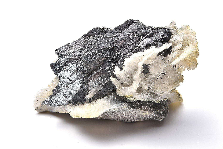 【 福縁閣 】【1点物】美麗結晶 輝安鉱 スティブナイト 原石_C1194 【宅急便のみ】天然石 パワーストーン ビーズ   B07F29WBGW