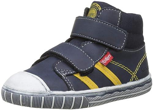 80a402d34a69f6 Kickers Bumper, Sneaker a Collo Alto Bambino: Amazon.it: Scarpe e borse