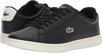 8ace8e86a51 Lacoste Womens Hydez Black Off-White 9 M