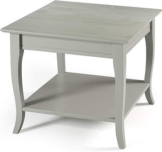 Amazon Com Linon Home Decor Products Farley Grey End Table Furniture Decor