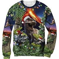 Green Turtle T-Shirts Divertidos Diseños de Sudaderas Unisexo de Impresion 3D para Navidad