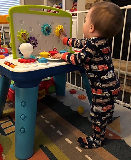 Baby Einstein Curiosity Table Activity Station Table Toddler Toy with Lights and Melodies, Ages 12 months and up Great activity table!