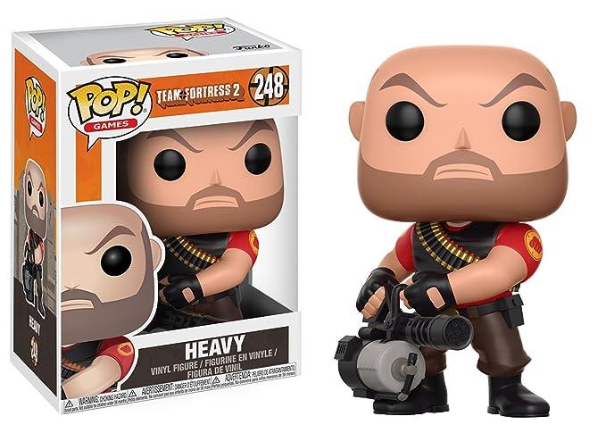 74c367e429b Amazon.com  Funko Pop Games  Team Fortress 2 - Heavy Collectible Vinyl  Figure  Funko Pop! Games   Toys   Games