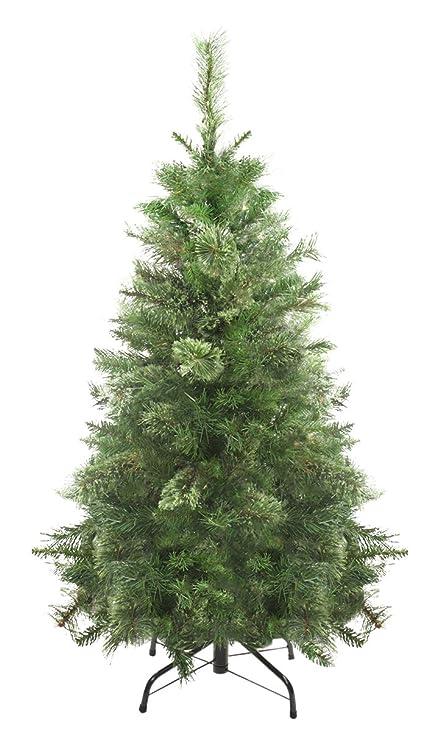 Northlight Cuando está apagada Atlanta Mezclado Cachemira Pino Medio árbol de Navidad Artificial, 4