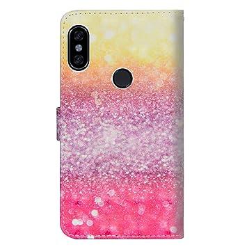 sinogoods para Xiaomi Redmi S2 / Y2 Funda, Cuero De La PU Magnético Capirotazo Billetera Apoyo Bumper Protector Cover Funda Carcasa Case - Color de ...