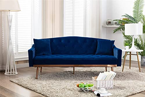70″ mid-Century Modern Sofa Bed