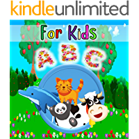 ABC For Kids: Toddler Learning Ages 2-4 (English Edition)