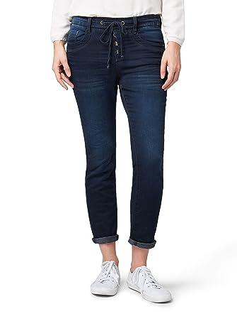 TOM TAILOR für Frauen Jeanshosen Relaxed Tapered Jeans