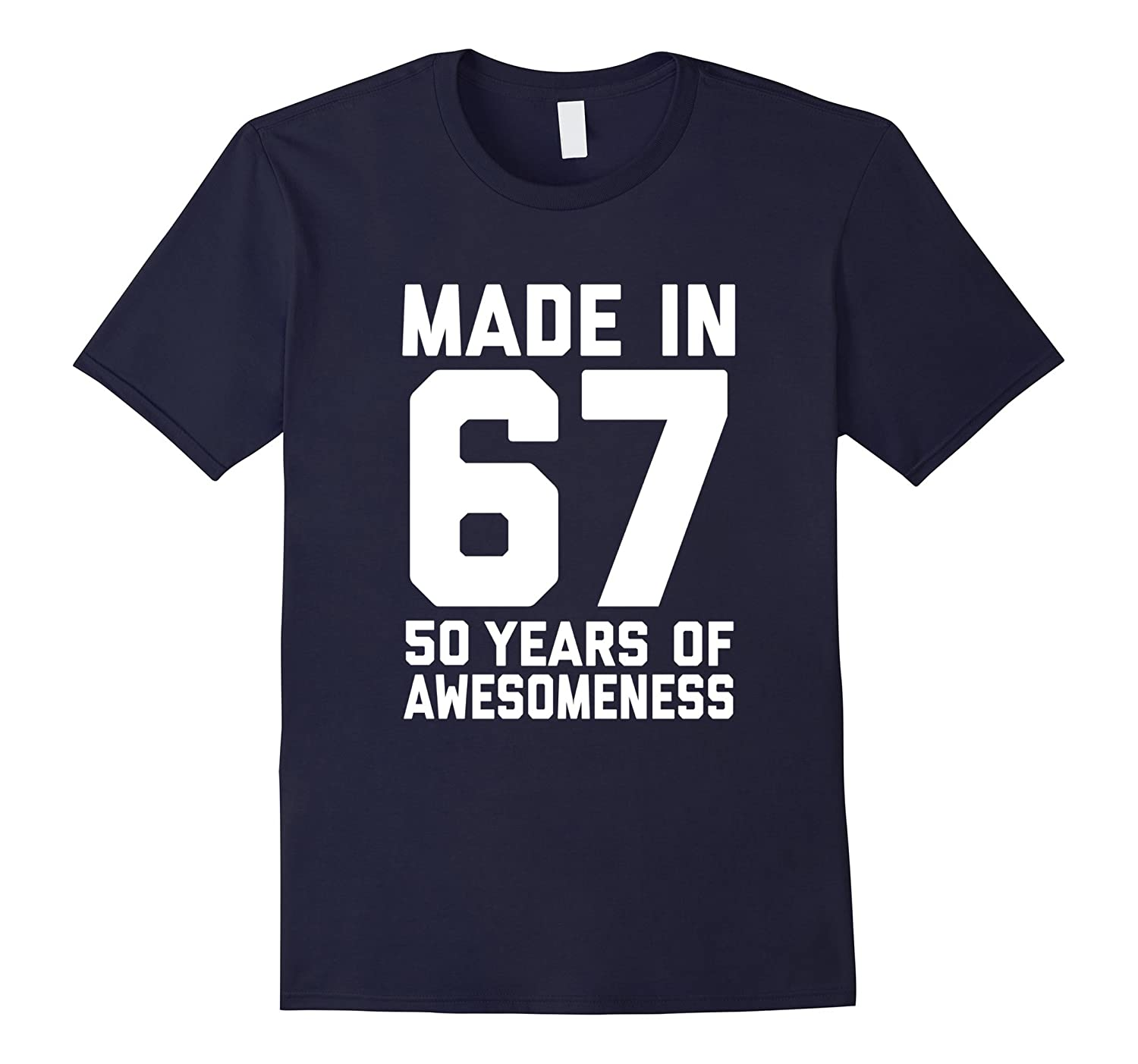 50th Birthday Shirt Gift Age 50 Year Old Mens Womens Tshirt-FL